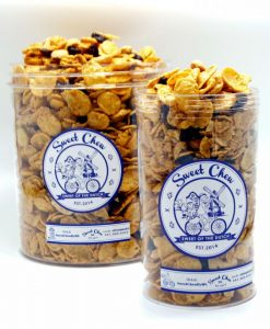 Sweetchew Caramel Cornflakes box