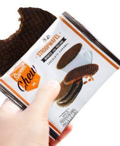 SweetChew choco caramel waffle